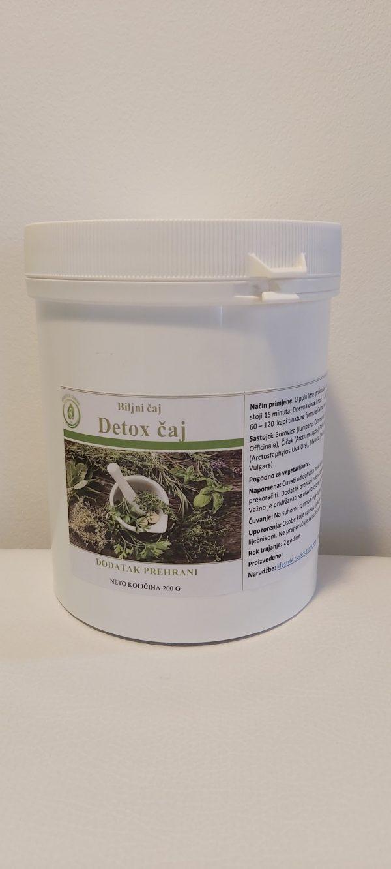Detox čaj - djelotvoran kod upale bubrega i mjehura, masne jetre